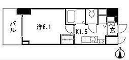 プレサンスSAKAE白川公園II[4階]の間取り