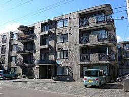 北海道札幌市中央区南十五条西16丁目の賃貸マンションの外観