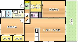 サンステージ[1階]の間取り