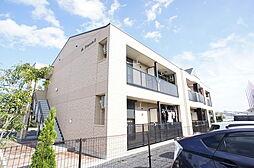 茨城県水戸市見川町の賃貸アパートの外観