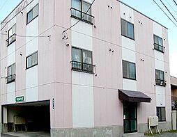 北海道小樽市新富町の賃貸アパートの外観