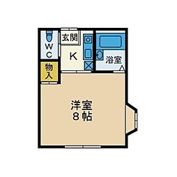 MTY43[1階]の間取り