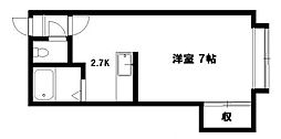 ゴ・ケポソII[3階]の間取り
