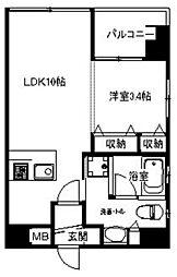 アインラウム[6階]の間取り