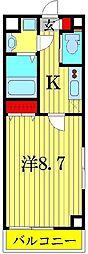 SAKURA TERRACE KASHIWA[2階]の間取り