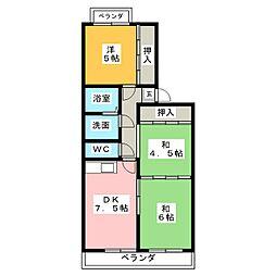マンションH・U[1階]の間取り