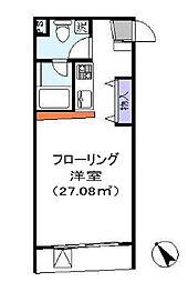 EVA鶴ヶ島[2階]の間取り