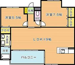 J5 Stage1(特定優良賃貸)[10階]の間取り