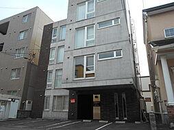 北海道札幌市豊平区美園八条1丁目の賃貸マンションの外観