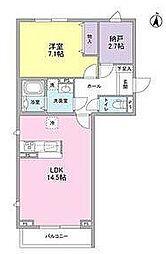 Casa Lupinus bt[401kk号室]の間取り