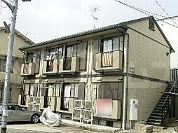 京都府京都市上京区一条殿町の賃貸アパートの外観