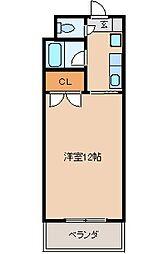エトランゼ宮本V[203号室]の間取り