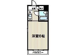 モナークマンション武蔵新城第I[1階]の間取り
