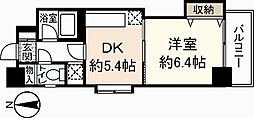 広島県広島市中区堺町2丁目の賃貸マンションの間取り