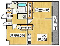 (仮称)スペイサイドK[9階]の間取り