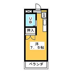 マンハイム石井[1階]の間取り