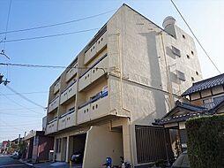 滋賀県近江八幡市桜宮町の賃貸マンションの外観