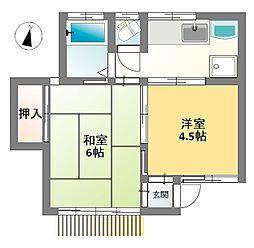 [タウンハウス] 東京都小金井市本町5丁目 の賃貸【/】の間取り