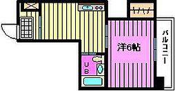 第16ユーセードムス(南本町)[5階]の間取り