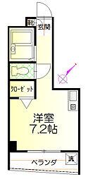 ラ・ジオン[2階]の間取り