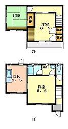 [テラスハウス] 兵庫県小野市下来住町 の賃貸【/】の間取り