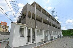 千葉県柏市柏堀之内新田の賃貸アパートの外観