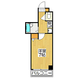 IZUKIマンション[208号室]の間取り