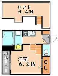 トランクイル[2階]の間取り