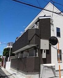 東京都中野区鷺宮5丁目の賃貸アパートの外観