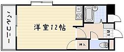 ピュアシティ小倉[201号室]の間取り