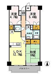 サンシャイン湘南[3階]の間取り