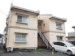 福岡県筑後市大字徳久の賃貸アパートの外観