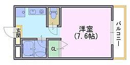 ファランドールK[1階]の間取り