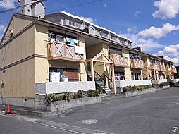 滋賀県草津市追分1丁目の賃貸アパートの外観