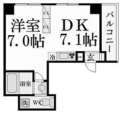 ノベラ西宮江上町[3階]の間取り