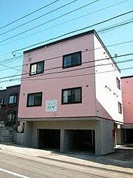北海道札幌市豊平区月寒東三条9丁目の賃貸アパートの外観