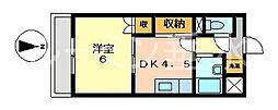 サンリベラル[5階]の間取り