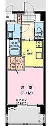 Catarina APT〜カタリナ アパートメント〜[1K号室]の間取り