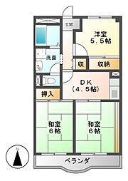 田島マンション[2階]の間取り