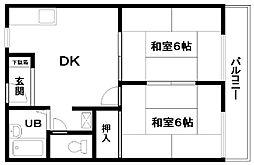 ドルフR&M[303号室]の間取り