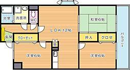 アビタシオンOKI(アビタシオンオキ)[7階]の間取り