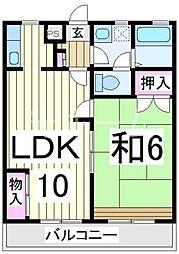 第三高好マンション[3階]の間取り