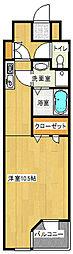 SKコートI[601号室]の間取り