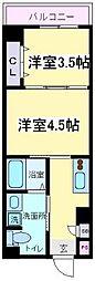(仮称)沢之町マンション[2階]の間取り