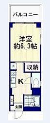 本沢マンション[2階]の間取り