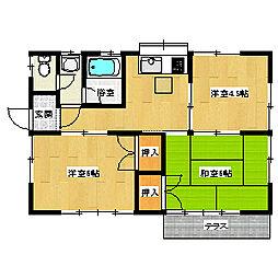 丹荘駅 4.5万円