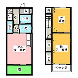 BIFROST A棟[1階]の間取り