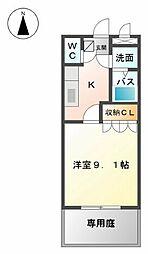 エクセレンス苅田[2階]の間取り