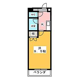 シティライフ藤ヶ丘南2号館[2階]の間取り