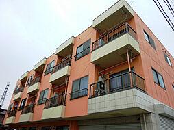 埼玉県川口市南鳩ヶ谷1丁目の賃貸マンションの外観